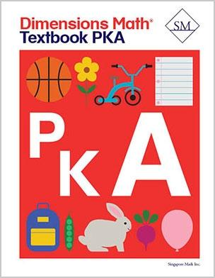 -Dimensions Math Textbook PreK-A
