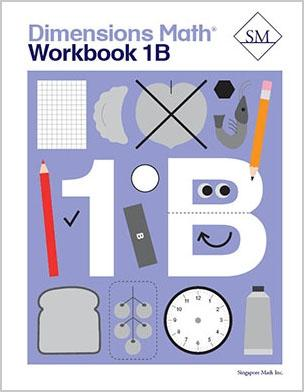 '-Dimensions Math Workbook 1B