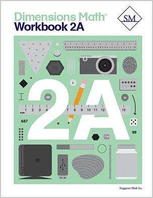 '-Dimensions Math Workbook 2A