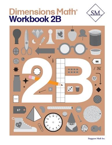 '-Dimensions Math Workbook 2B