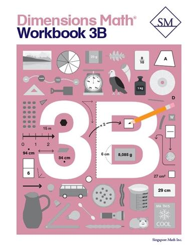 '-Dimensions Math Workbook 3B