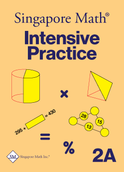 Singapore Math Primary Math Intensive Practice U.S. Ed 2A