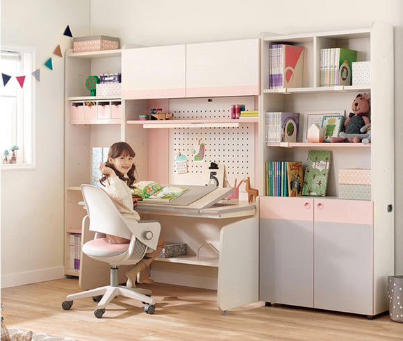 iloom 1200W 4-Story Smart Desk Set (Height: 180cm) more colors available [Pick-up ONLY]