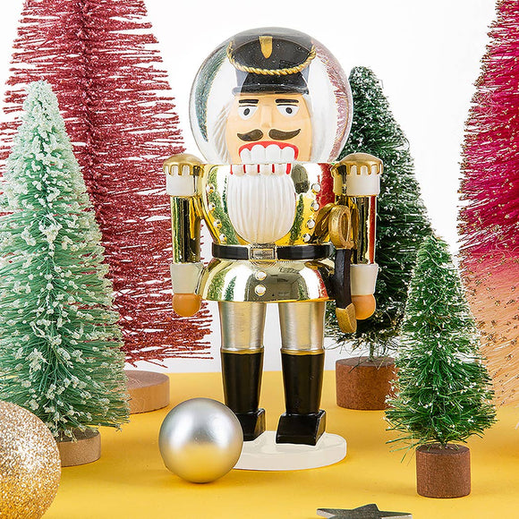 Nutcracker! Holiday Snowglobe