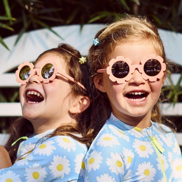 Babiators The Flower Child Polarized Sunglasses with Mirrored Lenses