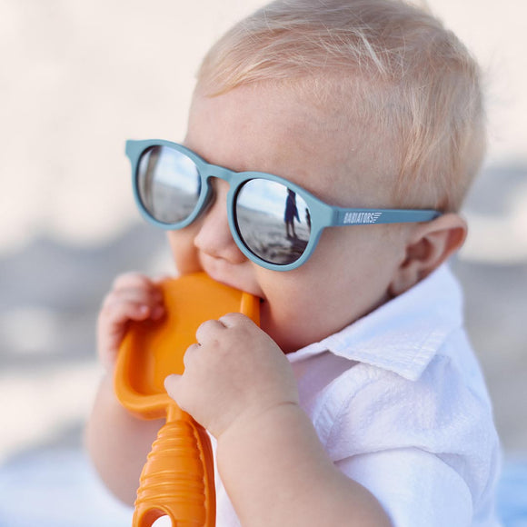 Babiators The Seafarer Polarized Sunglasses with Mirrored Lenses