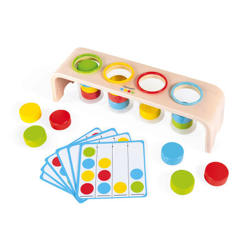 Janod ESSENTIALS - SORTING COLORS GAME