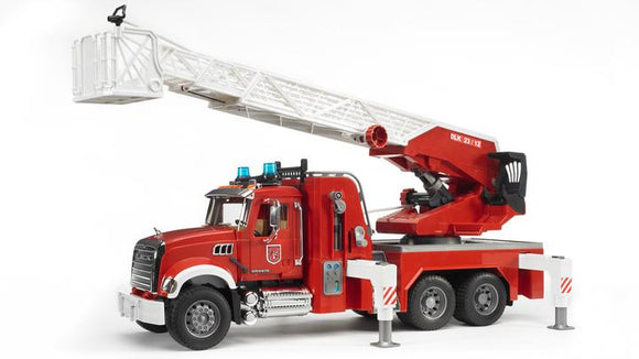 Bruder 02821 Mack Granite Fire Engine with Water Pump and Light & Sound