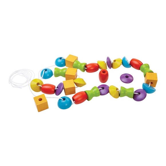 Plan Toys 5353Lacing Bead 3Y+