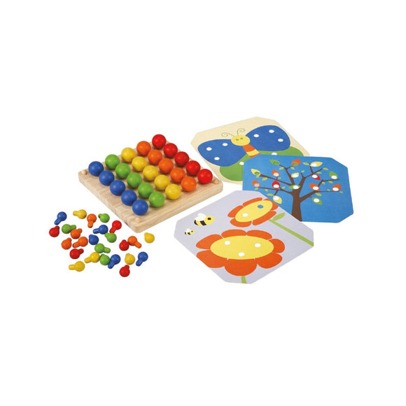 Plan Toys 5399 Creative Peg Board 3Y+