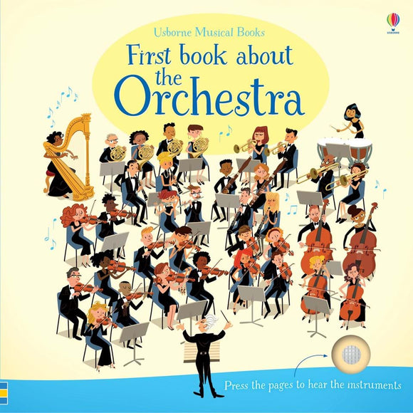 USBORNE First Book About the Orchestra 3Y+