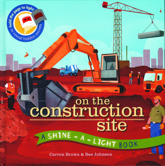 Usborne Shine-a-Light - On the Construction Site 4-8Y