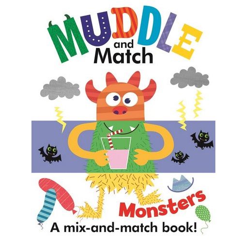 USBORNE Muddle and Match: Monsters 3Y+ 978-1-61067-423-2