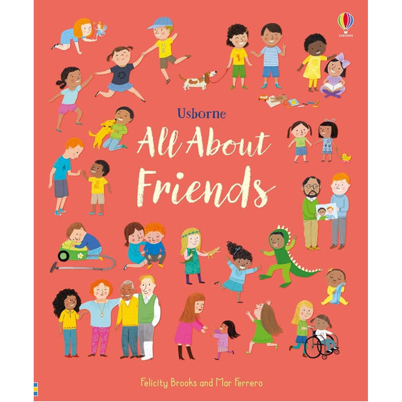 USBORNE All About Friends 3Y+ 978-0-7945-4853-7