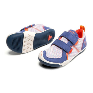 Plae Shoes Ty Micro Suede/Woven Poly DIGITAL Mosaic Blue