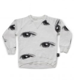 Nununu NU4454 Eye Sweatshirt White