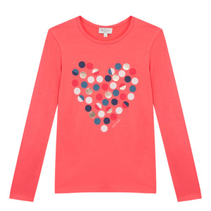 Paul Smith spot heart print top 5K10052-330