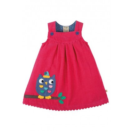 Frugi DRA704RAO-LILY CORD DRESS