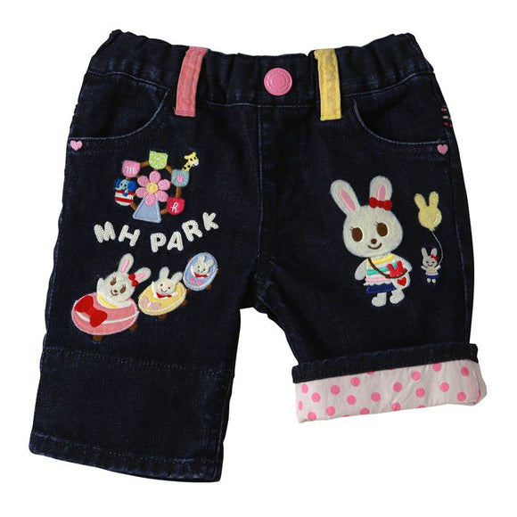 xMiki House - Usako Bunny Premium Denim Shorts