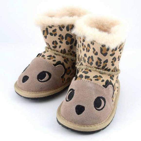 xEMU AUSTRALIA Cheetah Kids Walker Baby Winter Boots