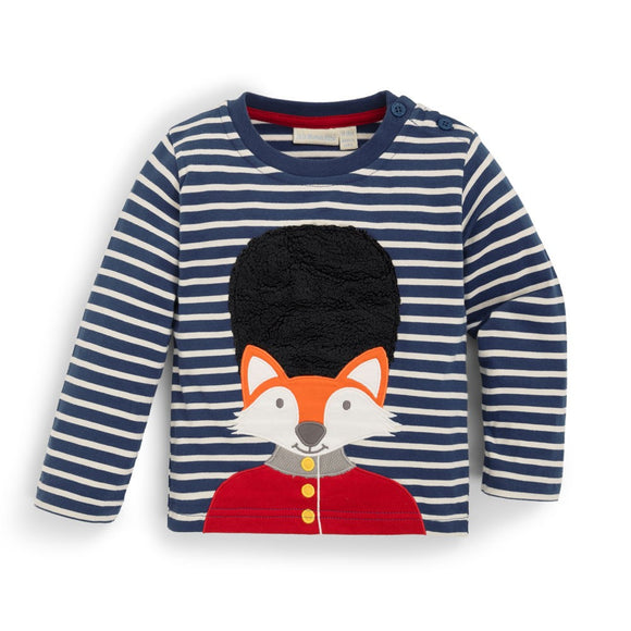 Jojo Maman Bebe - E1644 -  Fox London Guard Top Indigo