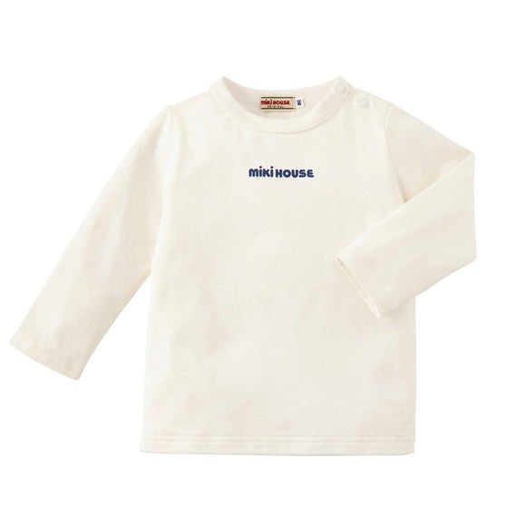 xMiki House Long Sleeve T-shirt in White
