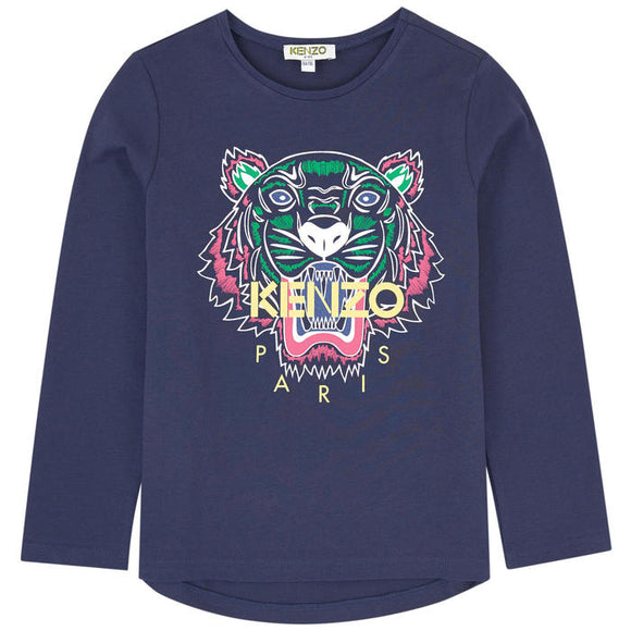 xKenzo Tiger long sleeve T-shirt KM10028 04