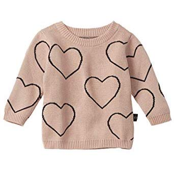 Huxbaby HB928 Heart KNIT Jumper