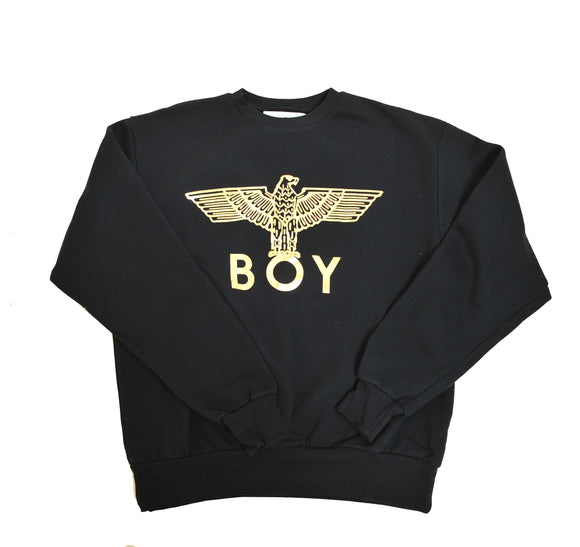 BOY LONDON Gold Logo Print Eagle Sweater CFG5100
