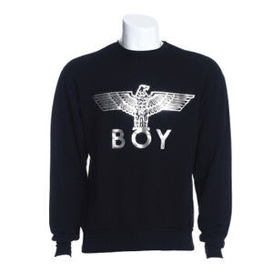 BOY LONDON Silver Eagle Boy Logo Sweater CFS5100