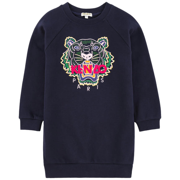 Kenzo Girls Tiger Sweatshirt Dress KM3003804