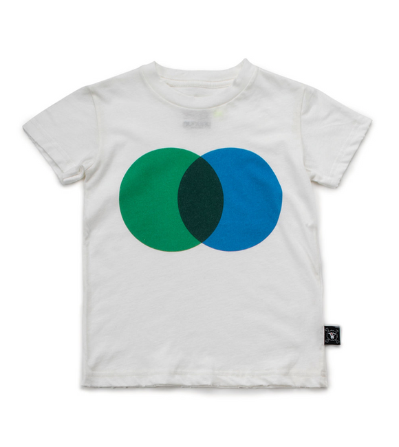 Nununu Nu2106 Colorful Circle T-shirt White/Green