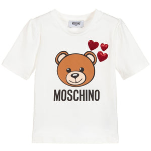 Moschino HDM02U LBA10 10063 T-SHIRT CLOUD