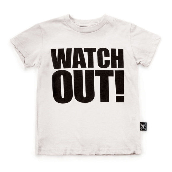 Nununu Nu2108 Watch Out T-shirt WHITE