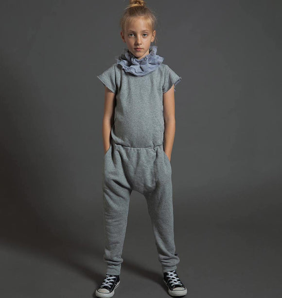 Nununu NU2750 Victoria Overall in Heather Grey
