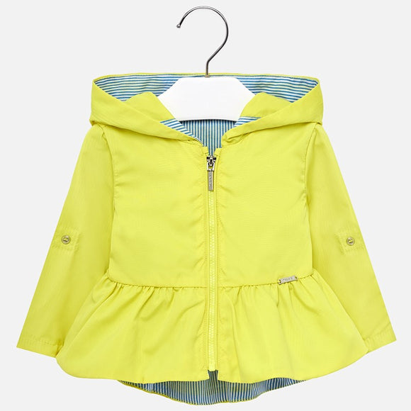 mayoral - 1424 Hooded jacket for baby girl
