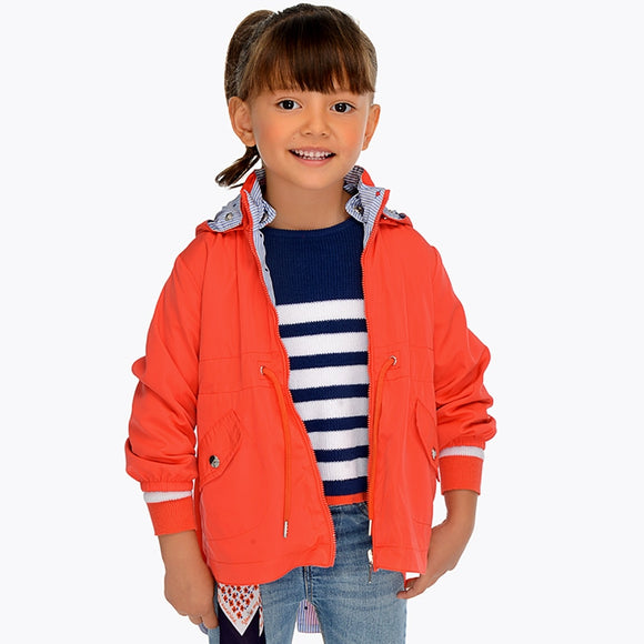 mayoral - 3413 Reversible Parka Persimmon