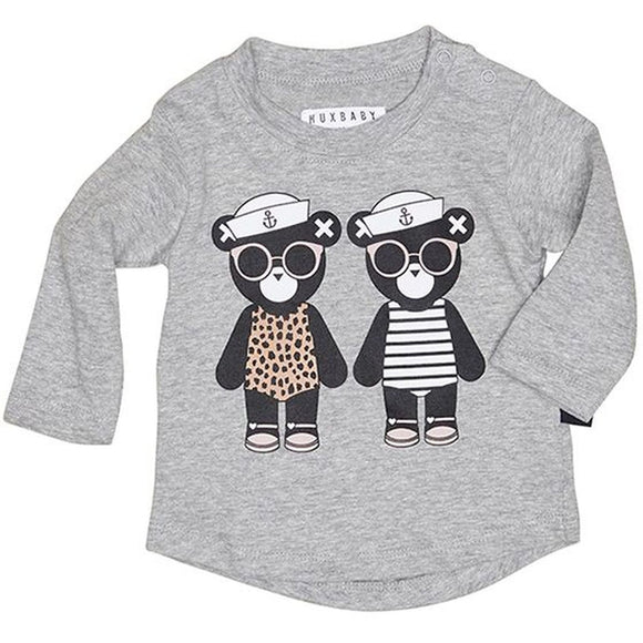 Huxbaby HB1050 TWINS LS Top
