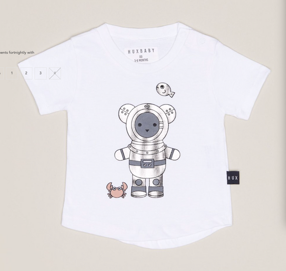 Huxbaby HB1058 Deep SEA DIVER T-shirt