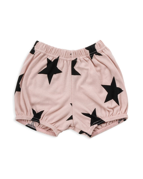 Nununu Nu1739 Star Yoga Shorts Powder Pink