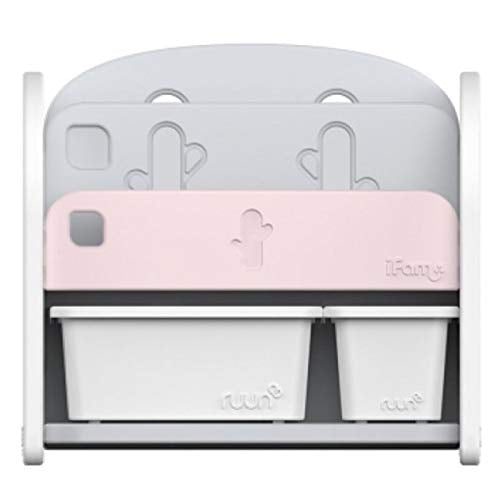 Ifam Easy Doing Front Book Shelf IF-064 Pink