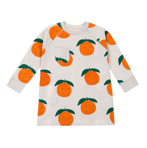 nadadelazos DRESS HAPPY ORANGES VES.8.200 ORA