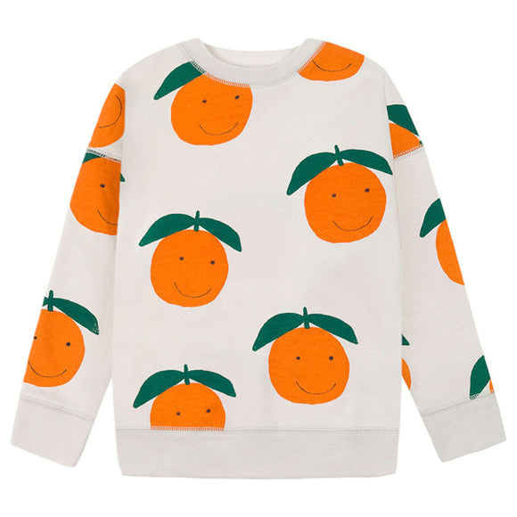 nadadelazos Sweatshirt HAPPY ORANGES JER.11.200 ORA