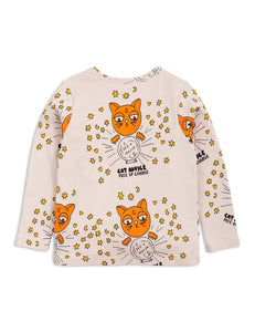 Mini Rodini Cat advice Long Sleeve Tee 1862010097