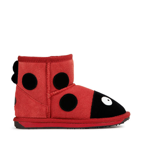 EMU AUSTRALIA - K5818 Little Creatures Ladybird Mini Red