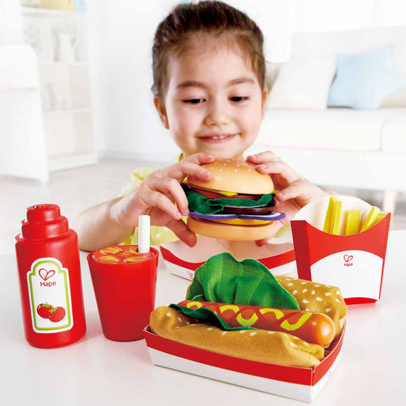 Hape Fast Food Set E3160