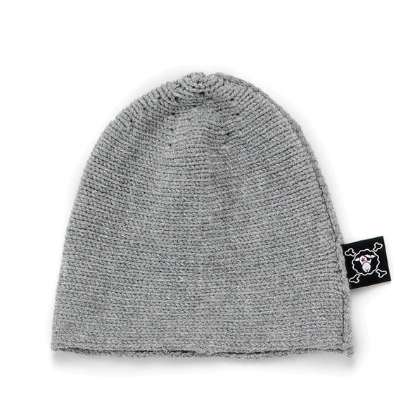 Nununu NU117 KNIT Hat Heather Grey