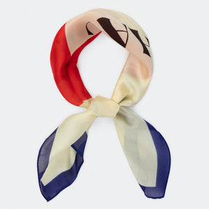 BOBO CHOSES Chachacha Kiss Square Scarf 12011033