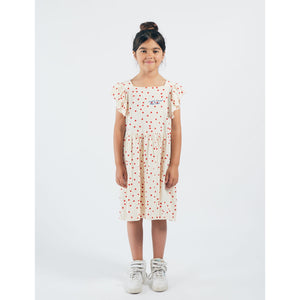 BOBO CHOSES Dots Jersey Ruffle Dress 12001118