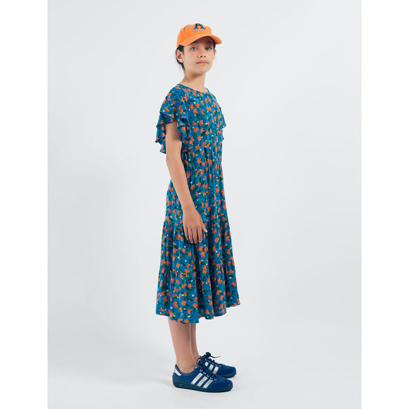 BOBO CHOSES All Over Oranges Flamenco Dress 12001123